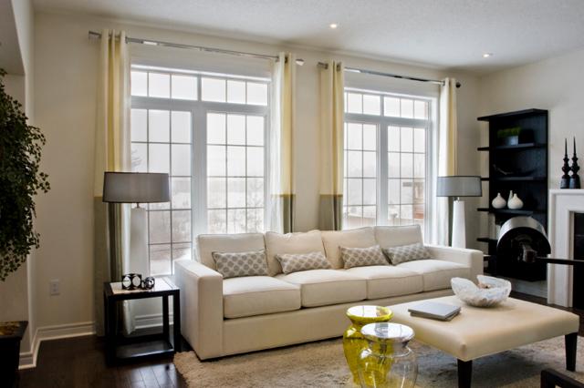 Färdigsydda gardiner vardagsrum