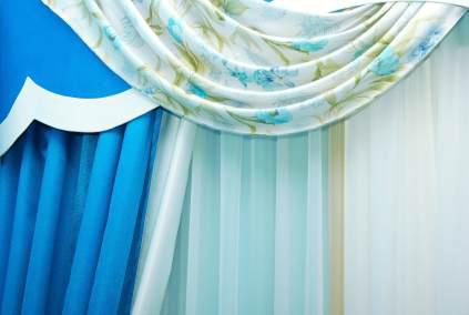 turkosa gardiner på nätet